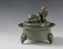 Celadon with Taekwon-Bodhisattva Mk.3