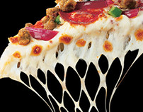 Pizza Hut- Spurs Program Ad