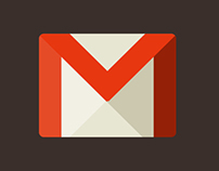 Gmail interface redesign concept