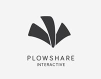 Plowshare Interactive Logo & Word Mark