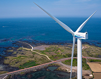 Hyundai 5.5MW Wind Turbine Installation