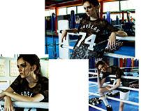 Elle magazine, sport chic, may 2014
