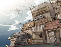 Background Illustrations