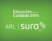 ARL Sura - Educación para el cuidado 2014 - Header