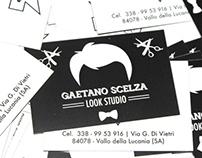 Gaetano Scelza business card