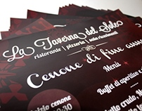 La Taverna del Sole - Super A3 poster