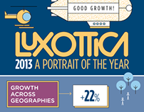 Luxottica - a portrait of the year 2013