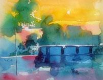 Watercolor play