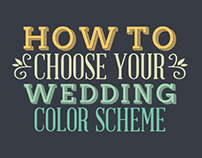 How to Choose Your Wedding Color Scheme