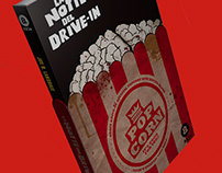 """Joe R. Lansdale - """"The Drive In"""" cover design"""