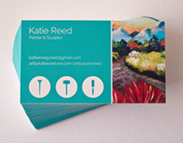 Business Cards - Katie Reed - Painter & Sculptor