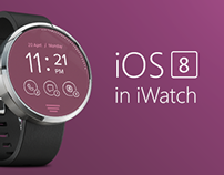 Concept iOS8 in iWatch
