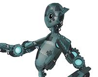Project kios robot