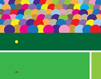Wimbledon 2014 Poster Designs