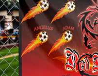 Soccer Team Outdoor Banner