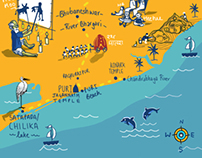 Illustrated Maps: National Geographic Traveller