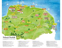 Nelson's Norfolk Map