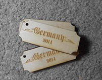 Germany Branding Keychain