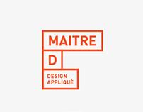 maître d / branding / www.maitre-d.ca
