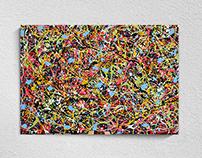 Omaggio a Pollock #1