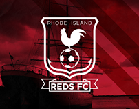 Rhode Island Reds FC Rebrand