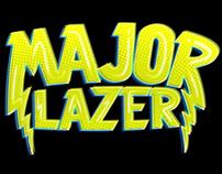 MAJOR LAZER & THE FLYIN ZION LION OF FREEDOM TEE!
