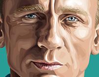 Daniel Craig Illustration