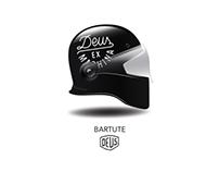 Motorcycle Helmet for Deus Ex Machina