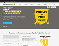Commonwealth Bank Student Site