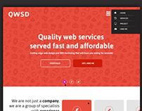 OWSD Homepage Design