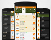 UI/UX for Restaurant Listing App for Android & iSO