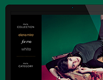Elena Miro - Website Design