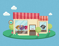 Elastichosts - Website & Animation