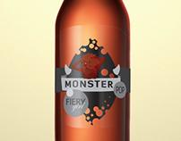 Monster Pop Soda Labels