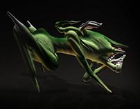 Poison Stalker - Character Design