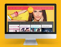 O Boticário's Viva Linda Website
