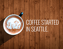 Seattle Skyline Latte