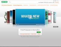 Bio-Rad Website Launch Campaign
