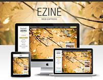Diseño web - Ezine