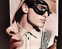 Look book for Russian male model agency NAME management