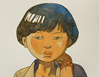 Natsuko - Unfinished comic project