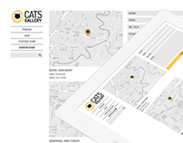 Cats Gallery - Logo and Web Design
