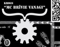 "Pub ""MC Brīvie Vanagi"" fly-sheets"