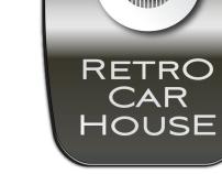 Retro Car House - Logo