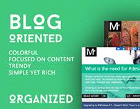 Blog Oriented