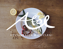 Visual identity / Fish Restaurant ATOL / 2014