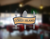 Jimmie's Coney Island: Brand Identity and Menu Design