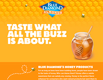 Blue Diamond Honey Website