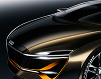 Car design sketches #4