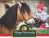 Advertising - The Village Mercantile